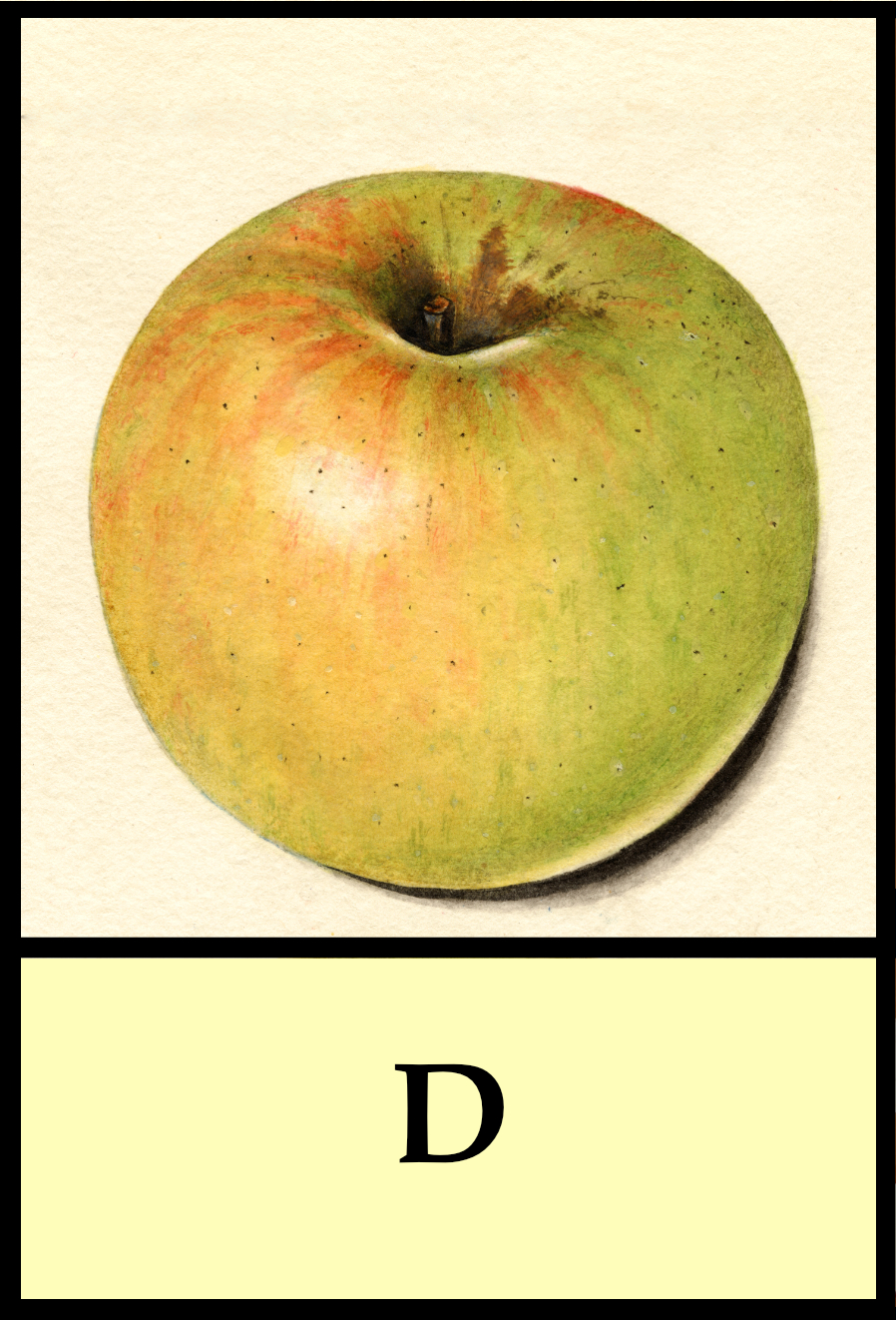 D apples