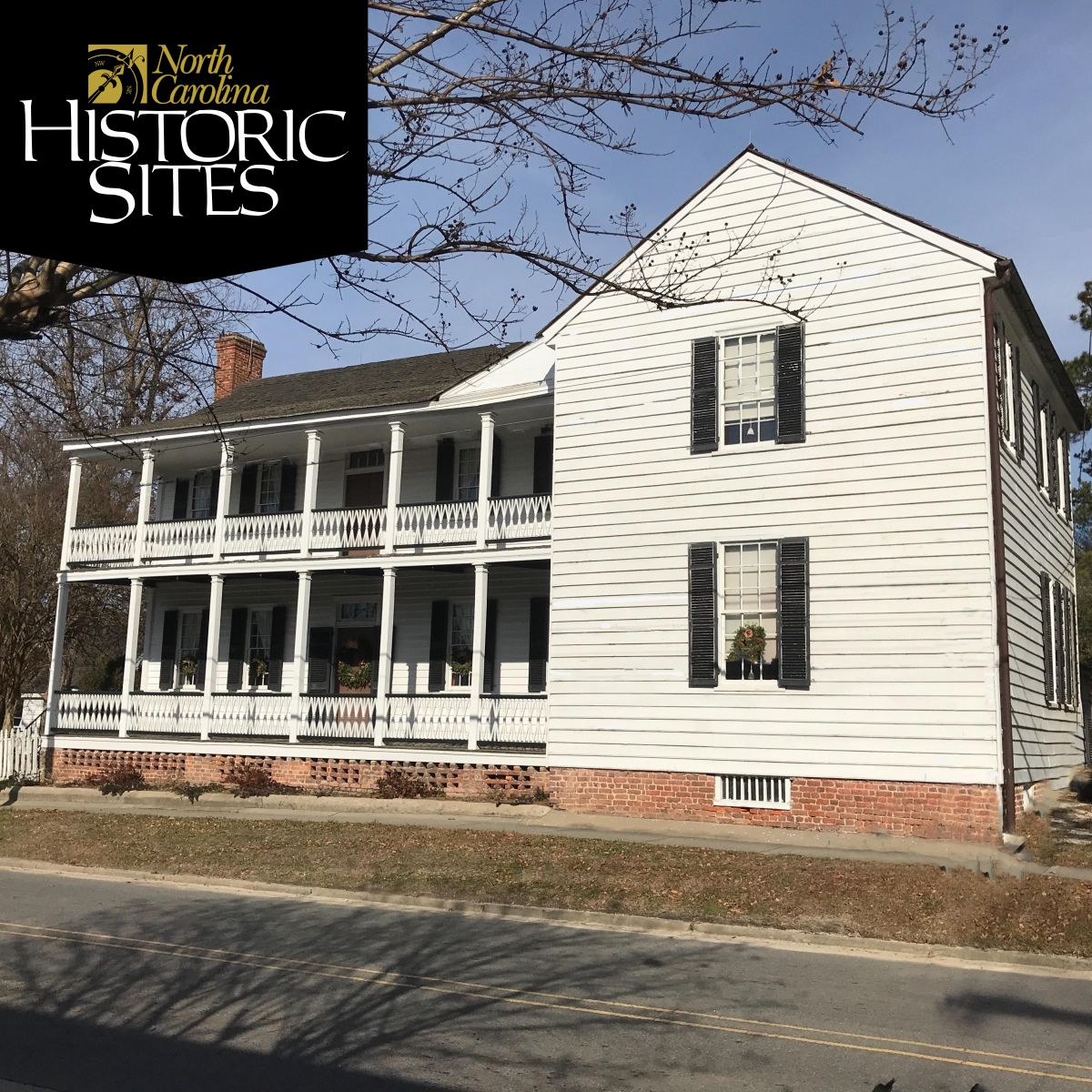 exterior of the James Iredell House