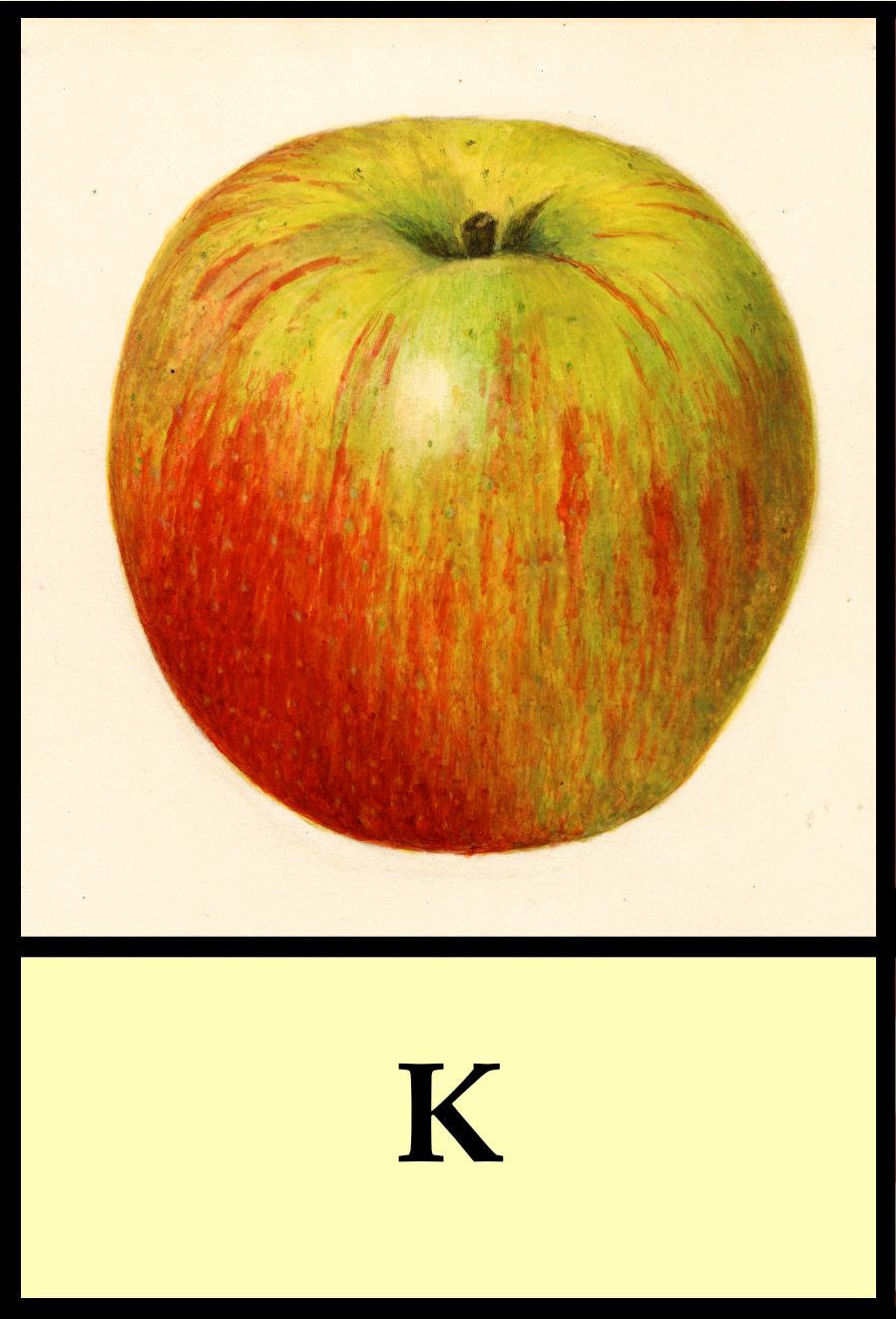 K apples