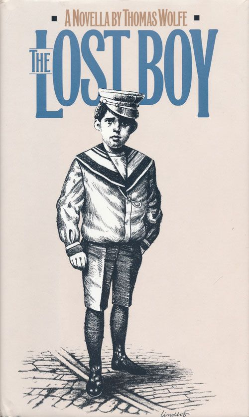 Book cover for The Lost Boy by Thomas Wolfe