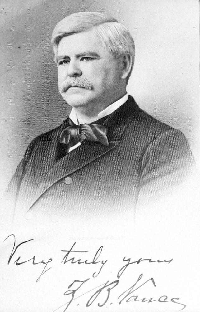 Portrait of Zebulon B Vance
