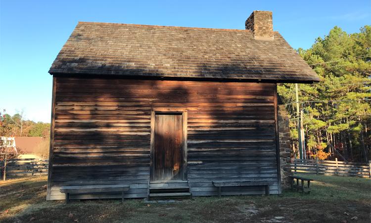 farmhouse at Bennett Place