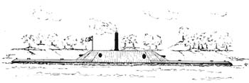 The CSS Neuse. An Artist's Rendering