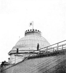 Dome of the Capitol building, taken during the Union occupation of Raleigh