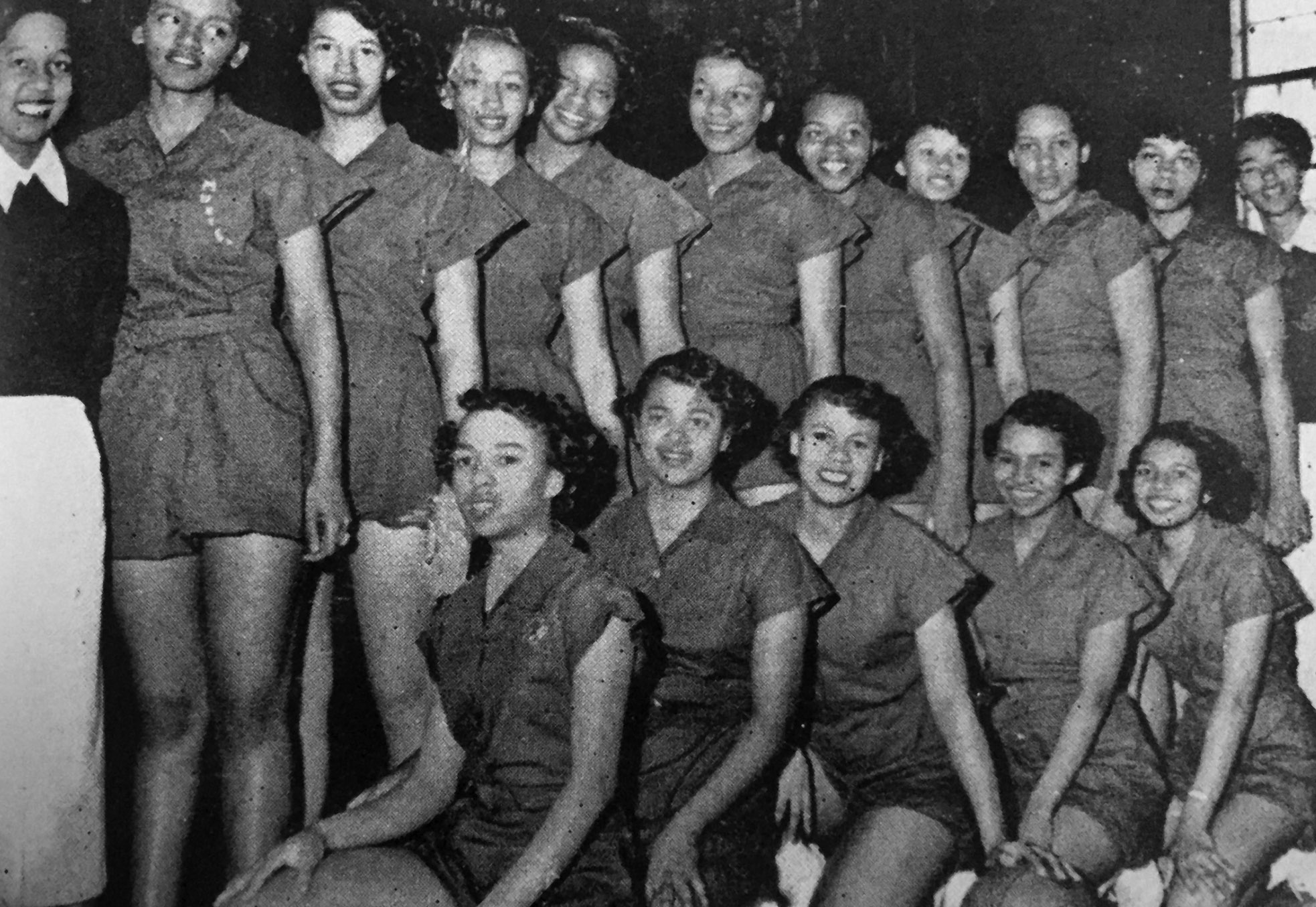 PMI Women's Basketball Team, 1952-53
