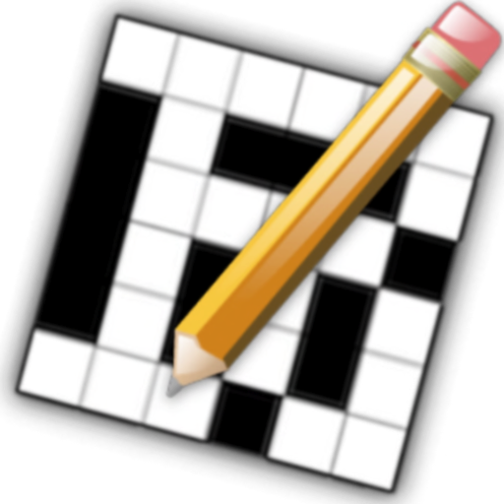 a crossword puzzle with a pencil in front of it