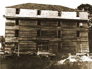 The great barn, built 1790