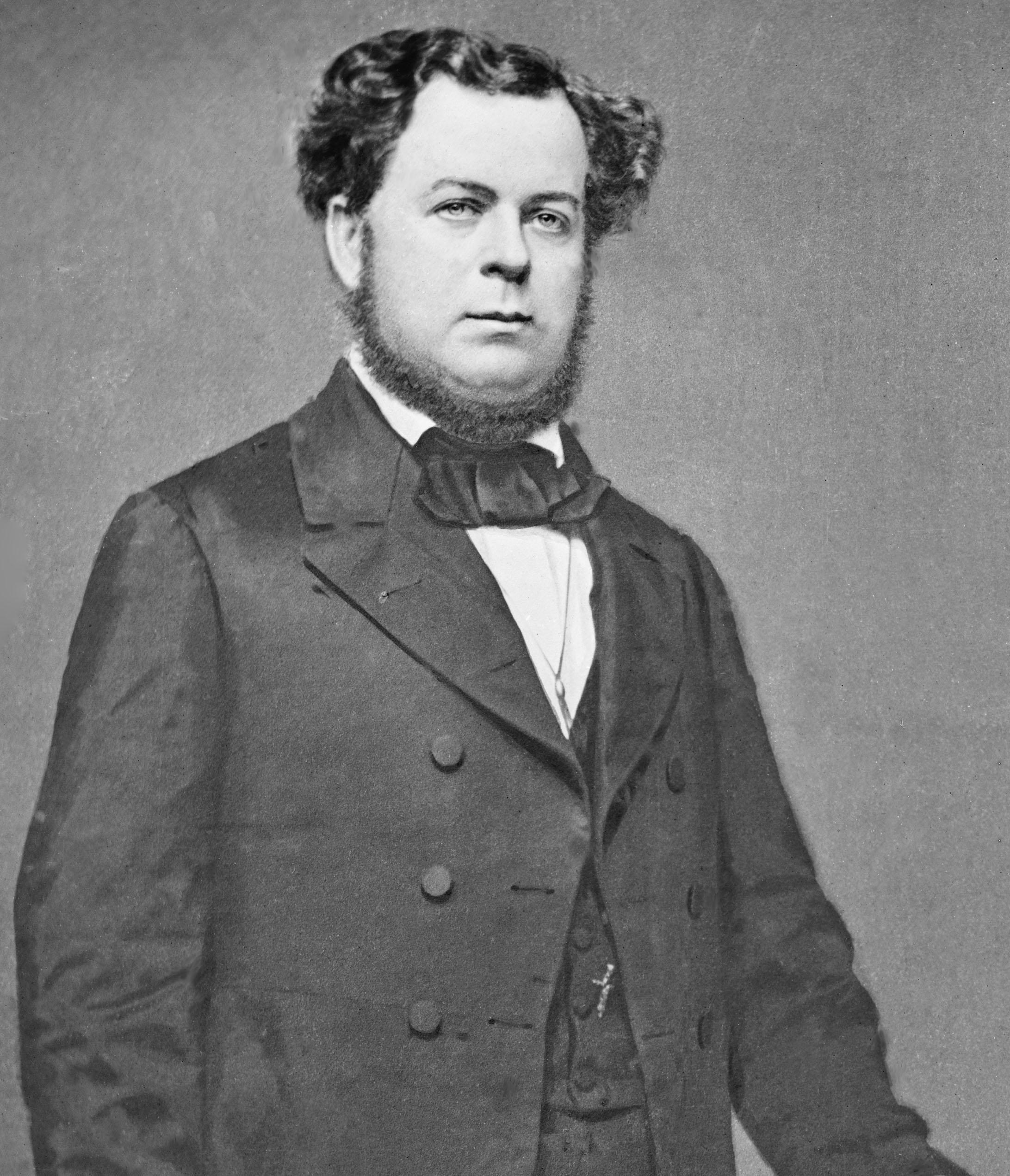 portrait of Stephen R. Mallory, Secretary of the Navy