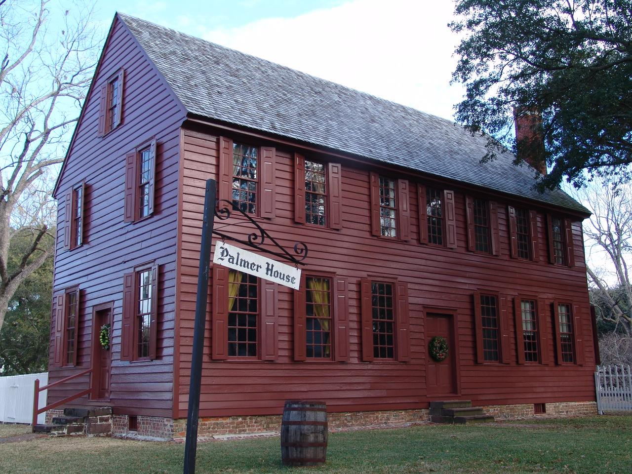 exterior of the Palmer Marsh house