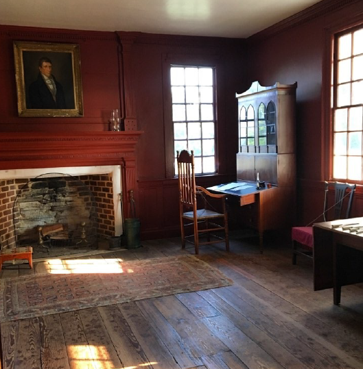 parlor of the Alston House