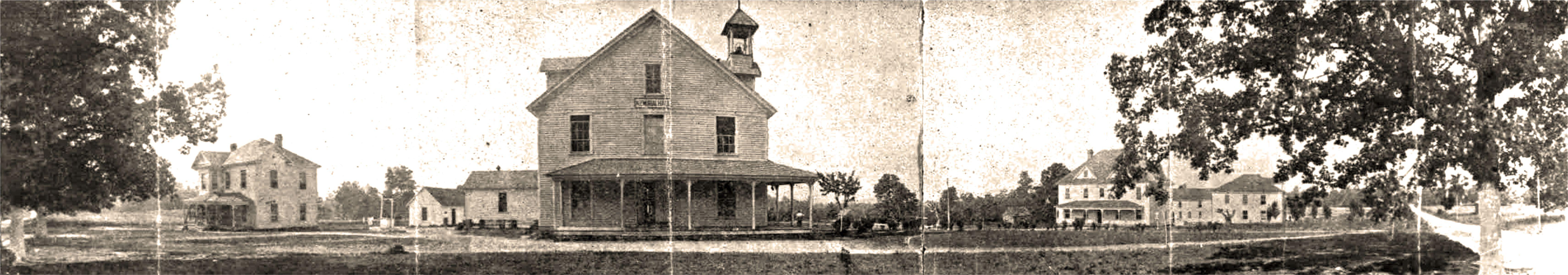 Campus of Palmer Memorial Institute, 1915