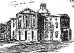 engraving of remodeled state house