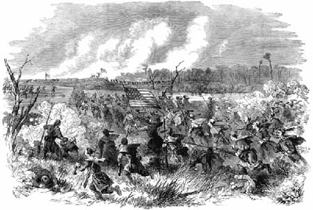 Battle of Roanoke Island, February 8, 1862