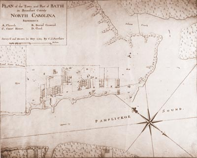 Sauthier Map 1769