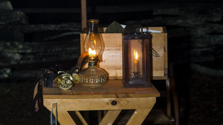Civil War Candlelight Tour Program