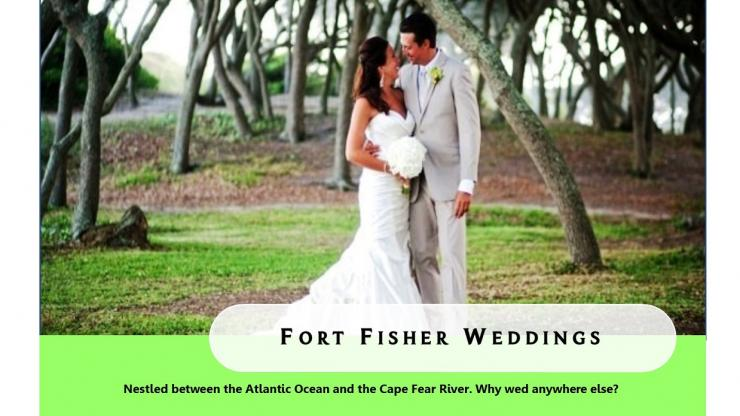 Wedding at fort fisher