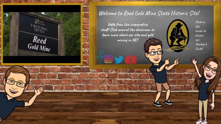 Reed Bitmoji Classroom Main Page