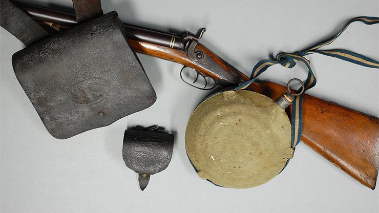 image of civil war artifacts