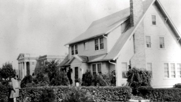 Vintage photo of Canary Cottage