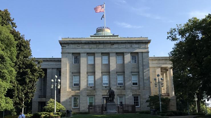 exterior of the State Capitol