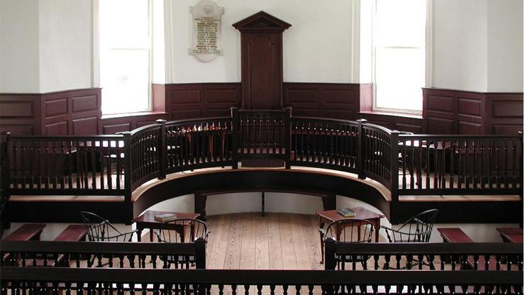 Inside the Chowan County Courthouse