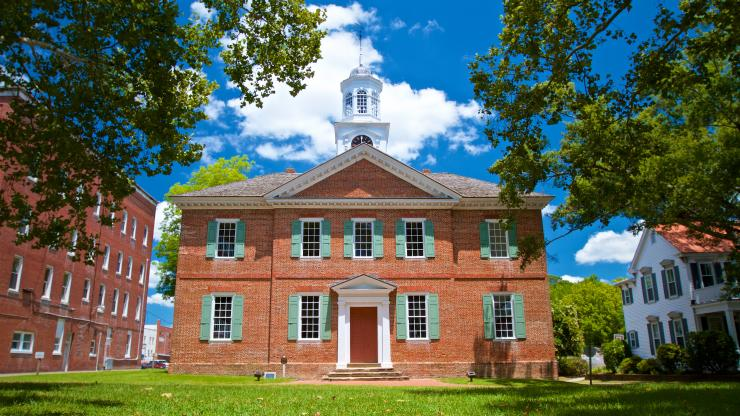 The Historic 1767 Chowan County Courthouse