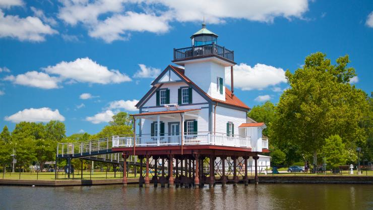 The 1886 Roanoke River Lighthouse