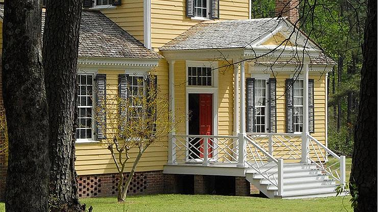 Exterior of the Sally Billy House
