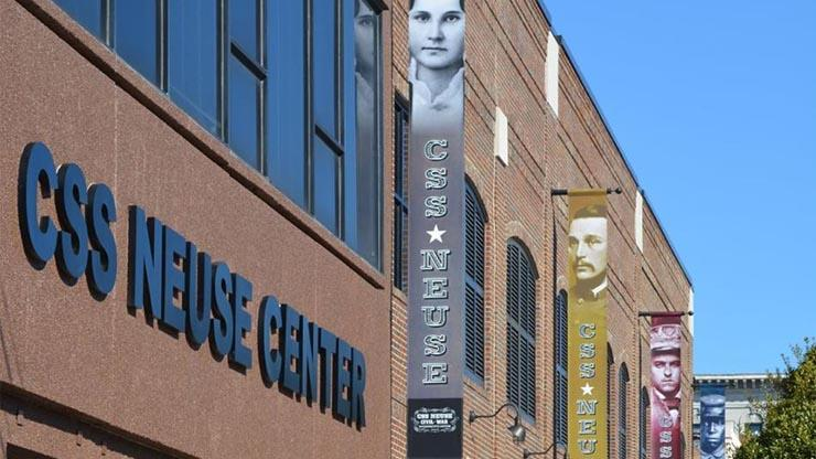 exterior of the CSS Neuse Civil War Interpretive Center