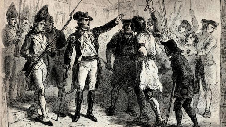 engraving of Gov. Tryon and Regulators