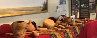 African drums on display