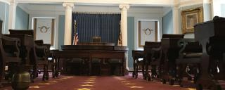 interior of the house chamber