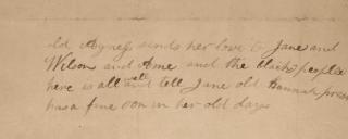 Vance letter