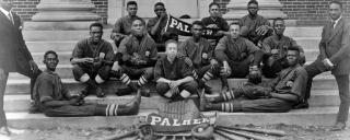 photograph of Palmer Memorial Institute baseball team