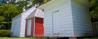 outbuildings at the James Iredell House