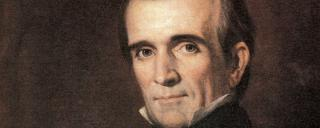 Portrait of James K Polk