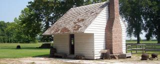 Slave cabin at Somerset Place