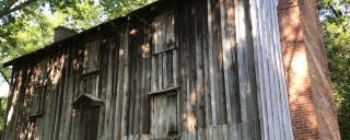 enslaved dwelling at Horton Grove
