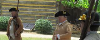 Reenactors at Alamance Battlegound
