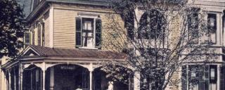 detail of the Old Kentucky Home