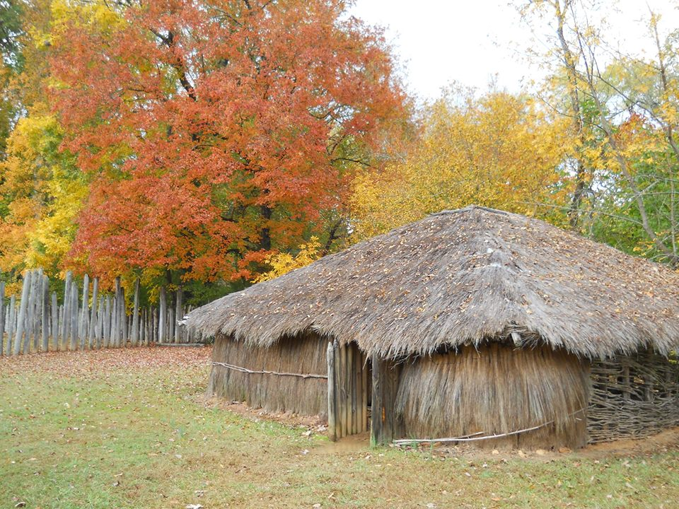 Reconstructed Burial Hut
