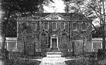 engraving of Tryon Palace