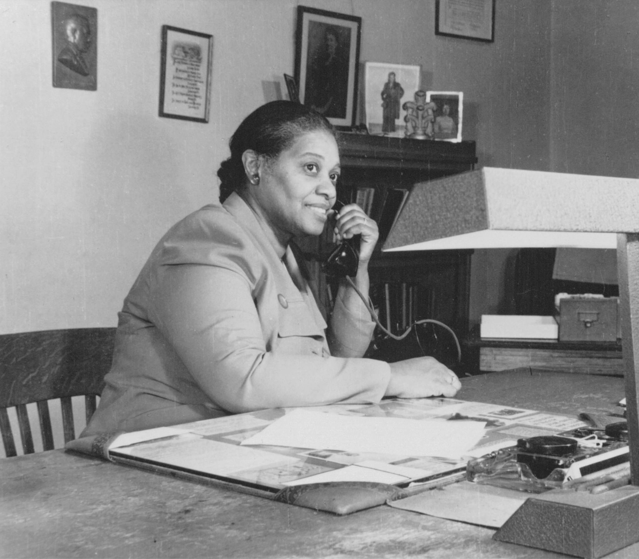 Wilhelmina Crosson, The second president of PMI, circa 1955