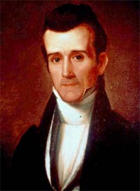Young James K. Polk