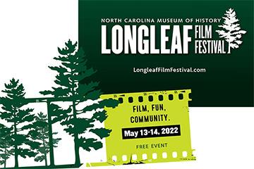 Longleaf Film Festival 2022 logo