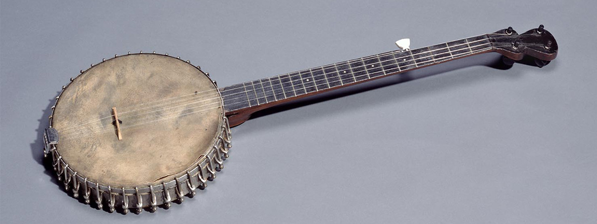 Banjo made by G. Barratt, circa 1880-1930