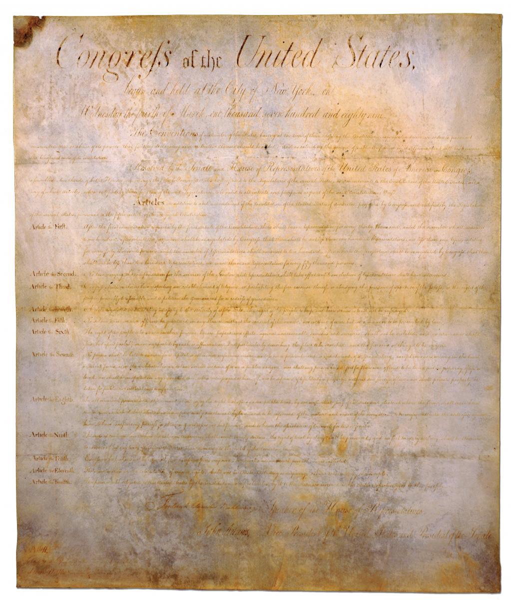 (Closed) North Carolina's Original Bill Of Rights