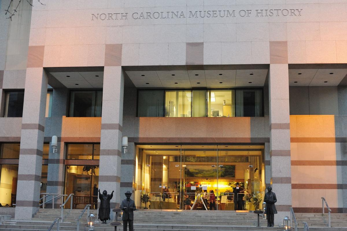 The North Carolina Museum of History entrance