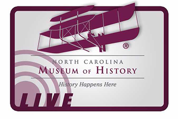 The logo for the North Carolina Museum of History Foundation