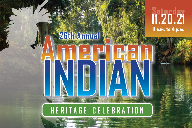 26th Annual American Indian Heritage Celebration logo